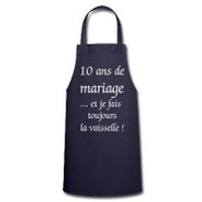 tablier mariage humour