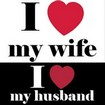 I love my wife I love my husband - Boutique Mariage
